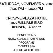Torchbearer's Award Gala – Saturday, November 5, 2016, 7pm, Crowne Plaza Hotel