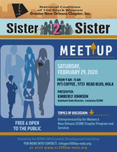 Sister 2 Sister Meet Up @ PJ's Coffee